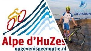 Debbie kijf mediation sponsort Alpe d; HuZes